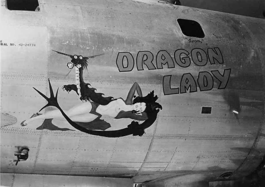 "Boeing B-29 Superfortress 42-24778 Nose Art ""Dragon Lady"""