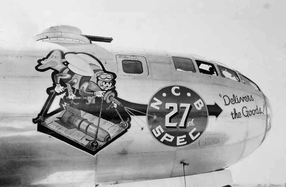 Boeing B-29 Superfortress Nose Art Ncb 27th Spec