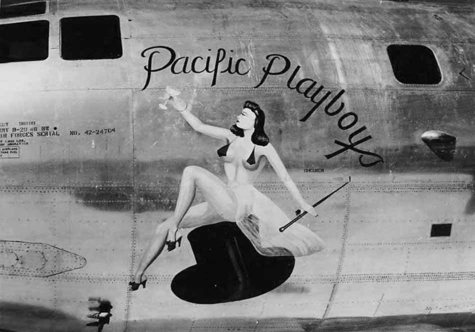 Boeing B-29 Superfortress 42-24764 – Nose Art Pacific Playboys