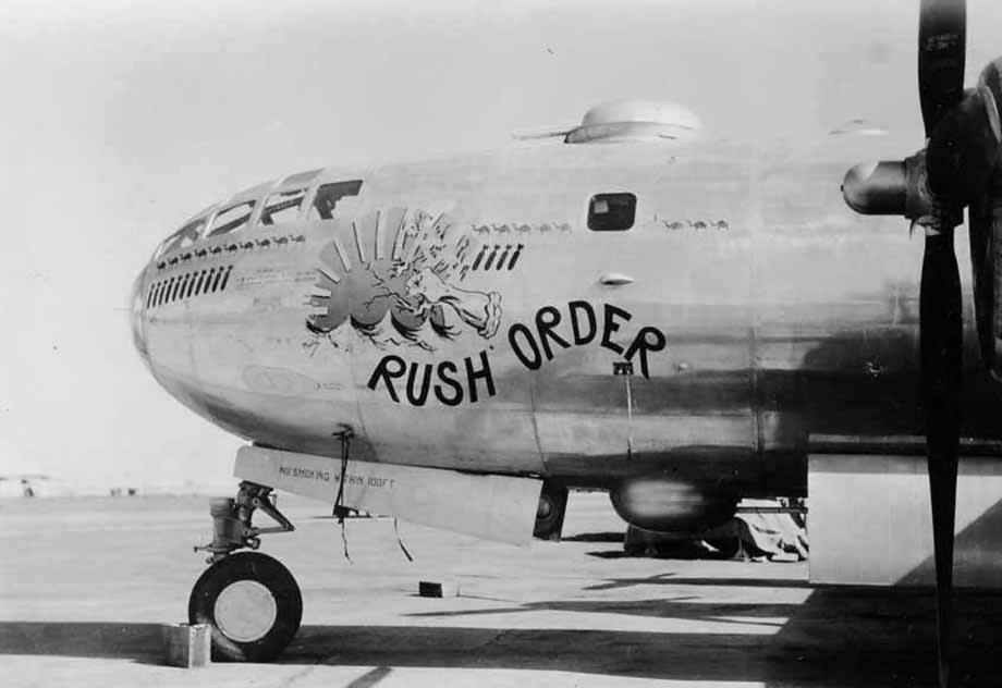 Boeing B-29 Superfortress 42-63393 Nose Art Rush Order