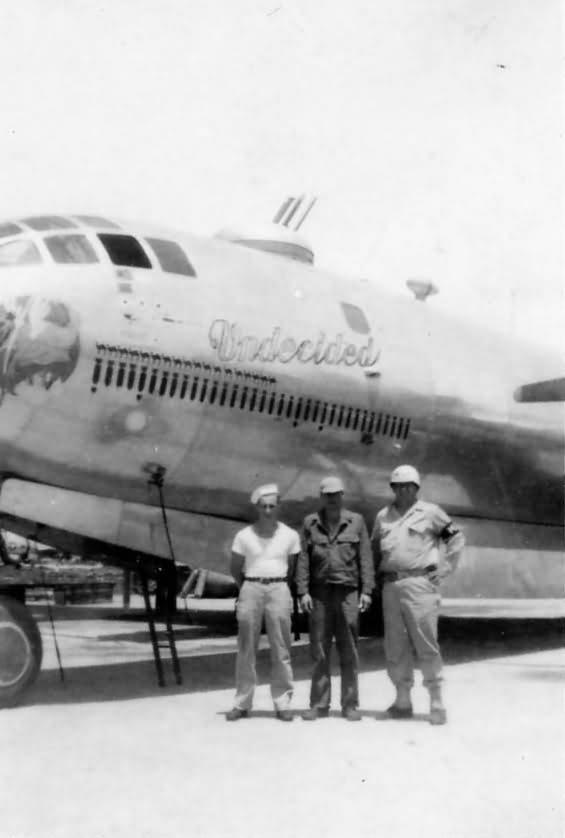 B-29 Superfortress Undecided