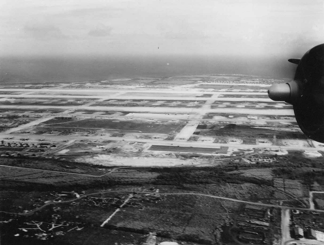 B-29 bombers base Northfield Airfield Tinian