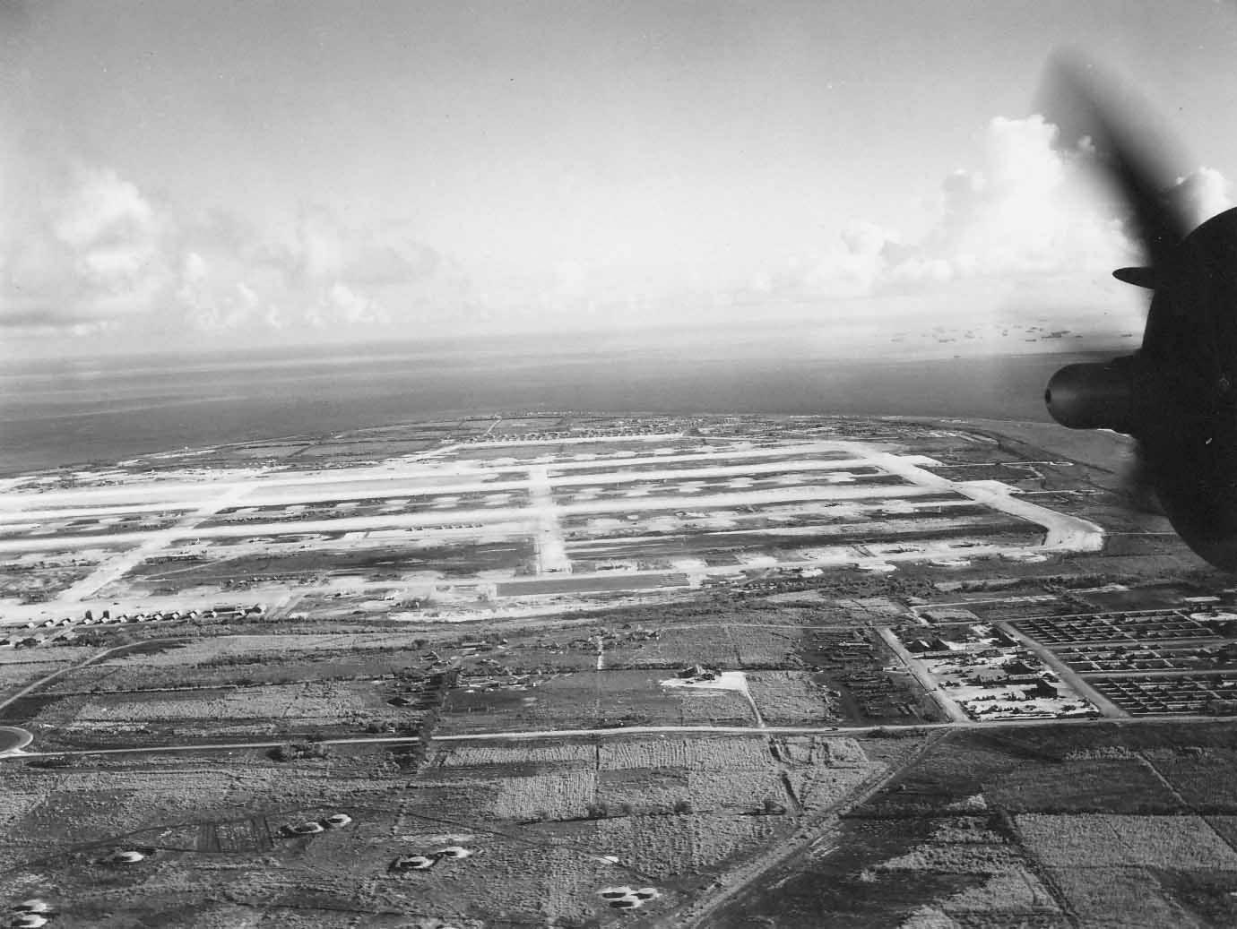 B-29 base Northfield Airfield Tinian 2
