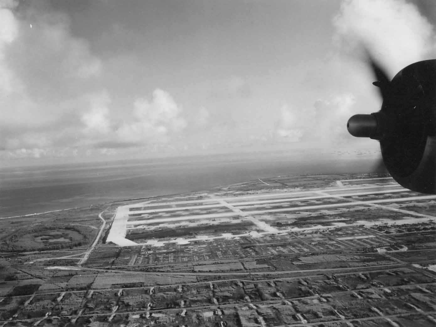 B-29 base Northfield Airfield Tinian 3