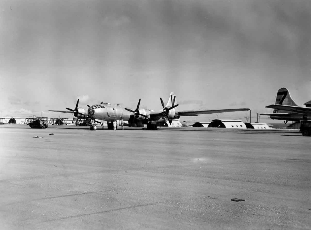 Boeing B-29 bomber HONEY 499th bomb group Saipan