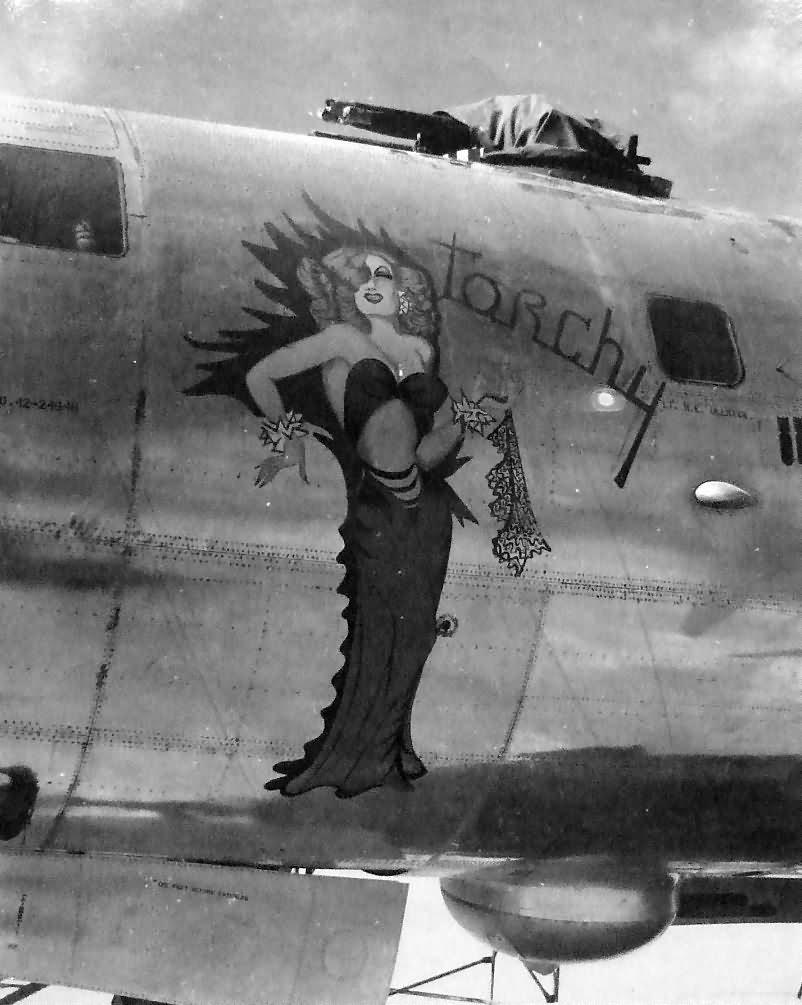 B-29 42-24646 TORCHY nose art Tinian 1945