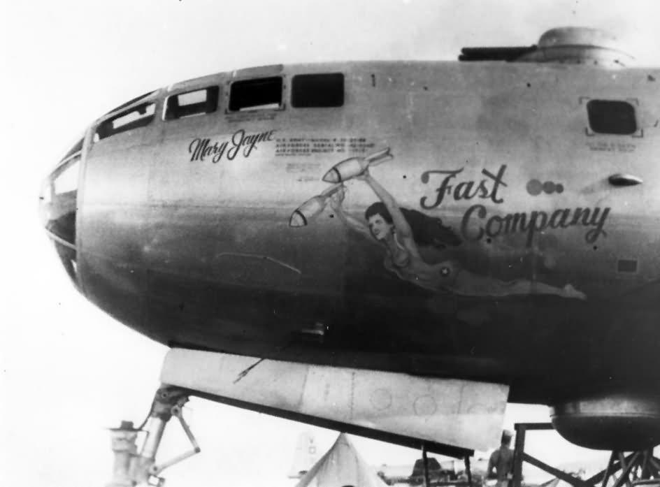 B-29 nose art Fast Company