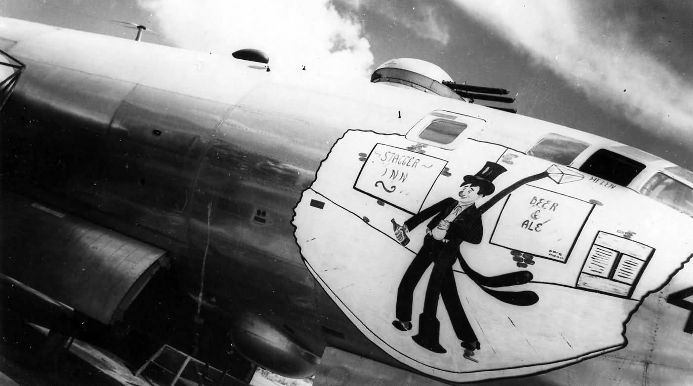 B-29 Superfortress nose art photo