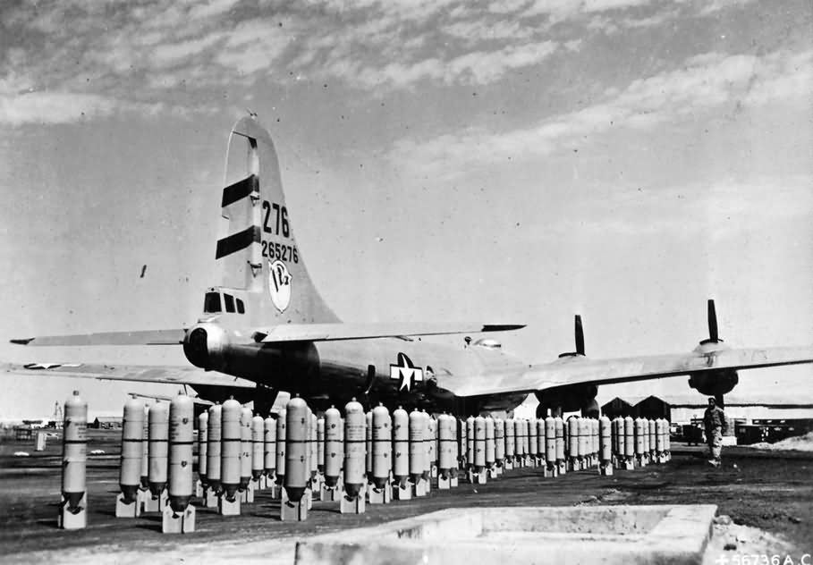 "Boeing B-29 Superfortress 42-65276 ""RAINEN' MAIDEN 2"" of the 468 Bomb Group, 793rd BS – India 1945"