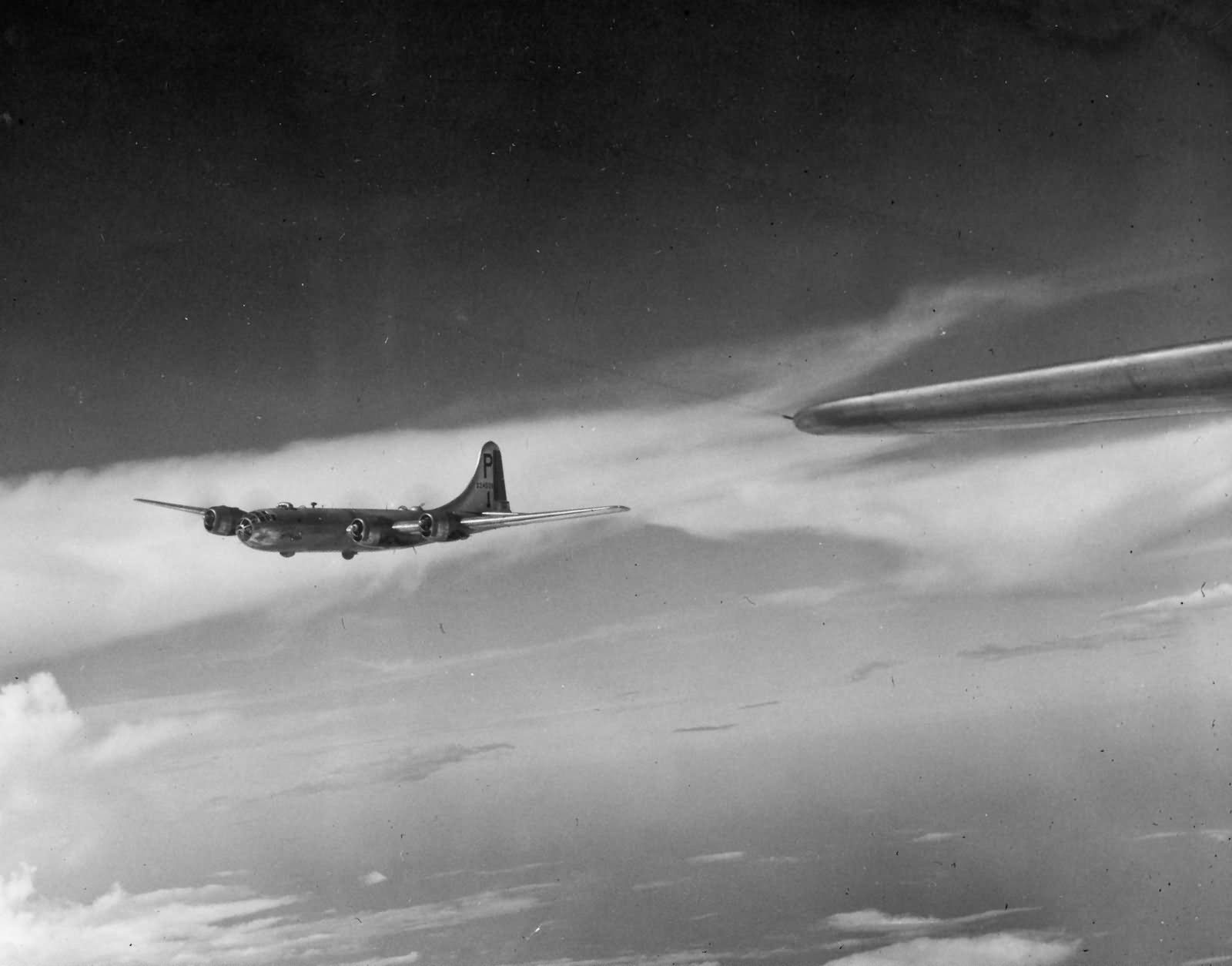 Boeing B-29 462nd raid on Rangoon on November 3 1944