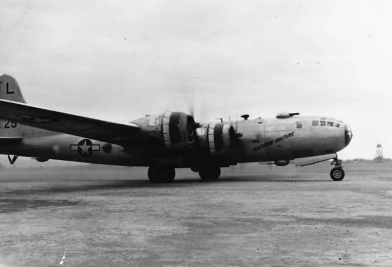 """Boeing B-29 42-24901 """"The Culture Vulture"""" 10th March 1945"""