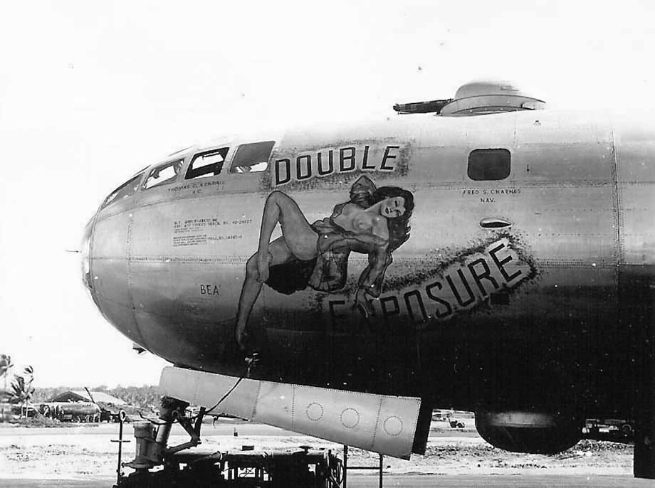 Boeing F-13A Double Exposure Nose Art 42-24877