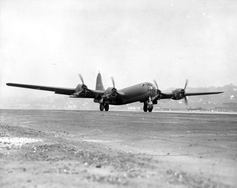 "Boeing XB-29 Superfortress 41-002 ""The Flying Guinea Pig"" 1942"