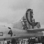 B-29 Superfortress from 504th BG, 24th BS number 4 Tinian 1945