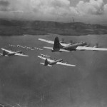 B-29 Superfortress Formation of the 29th Bomb Group 314th Bomb Wing