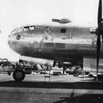B-29 Superfortress 42-24625 from 498th BG, 875th Bomb Squadron Nose Art Lady Mary Anna
