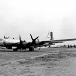B-29 of 462nd BG 468th Bomb Squadron Rush Order on the ground in India 1944 42 63393