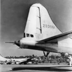 B-29A 42-93861 Superfortress with 20 mm cannon in tail turret