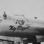 Boeing B-29 Superfortress 43-63512 from 9th BG Nip Clipper