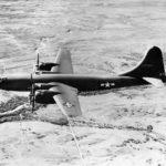 Boeing YB-29 41-36960 in flight