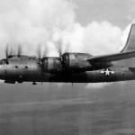 B-32 Dominator 42-108536 in flight during World War II