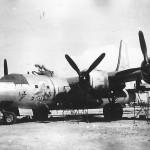 B-32 Dominator 42-108532 Hobo Queen II on the ground