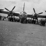 Consolidated B-32 Dominator front view