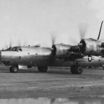 Consolidated B-32 42-108578 Taxiing Towards The Runway On Yontan Airstrip Before Take Off 25 August 1945