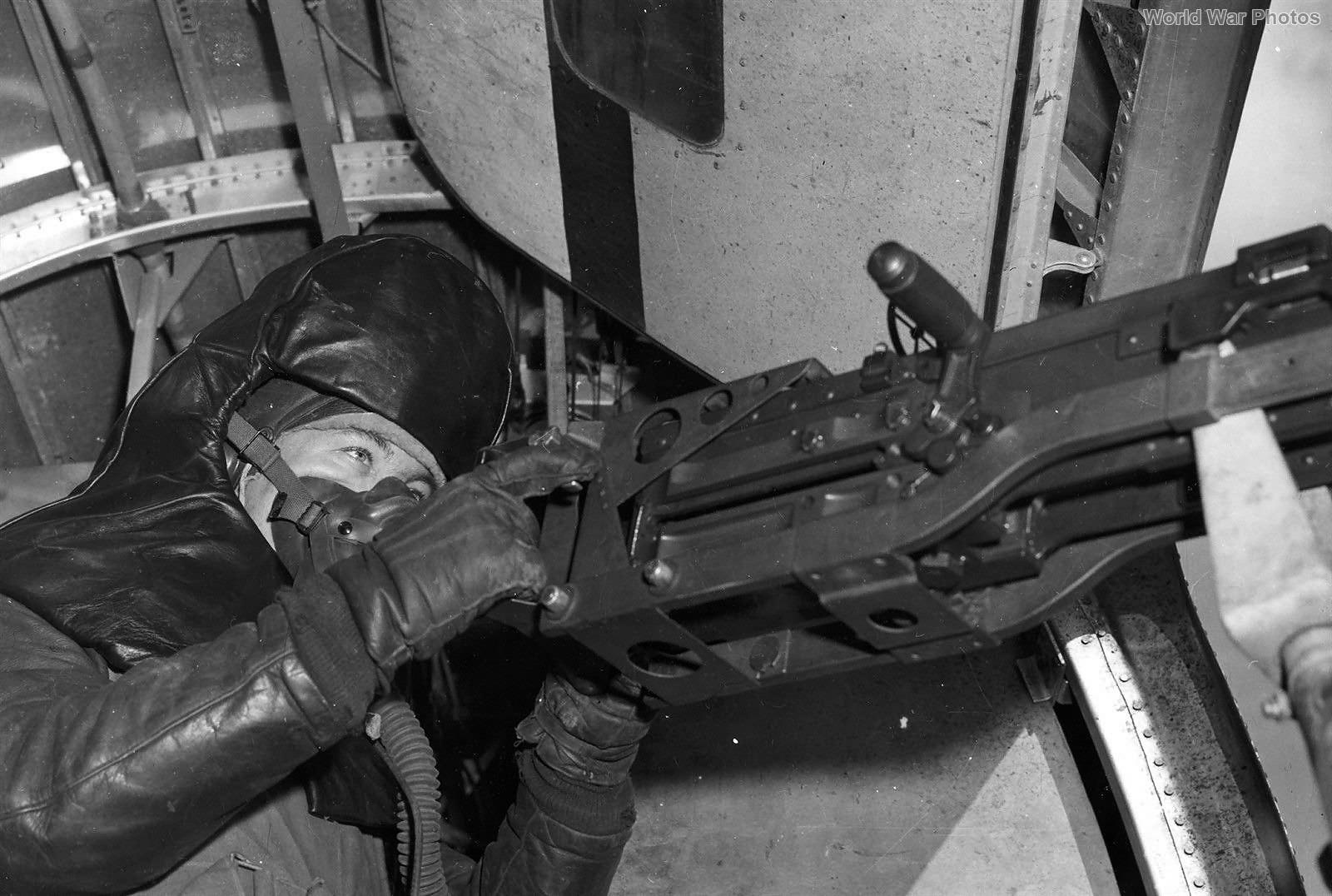 B-24 Waist Gunner with Armor, 376th BG 1944