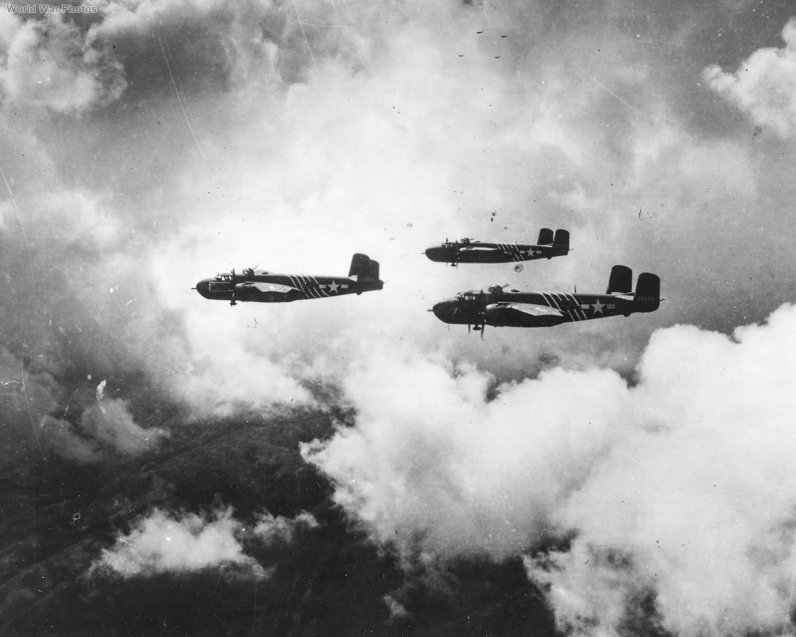 1st Air Commando B-25G Formation CBI Early '44