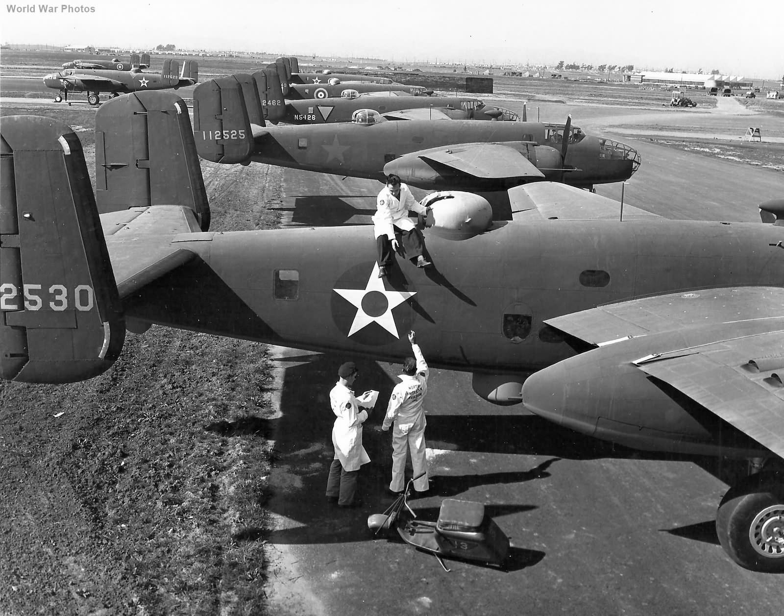 North American B-25C 41-12530 Inglewood