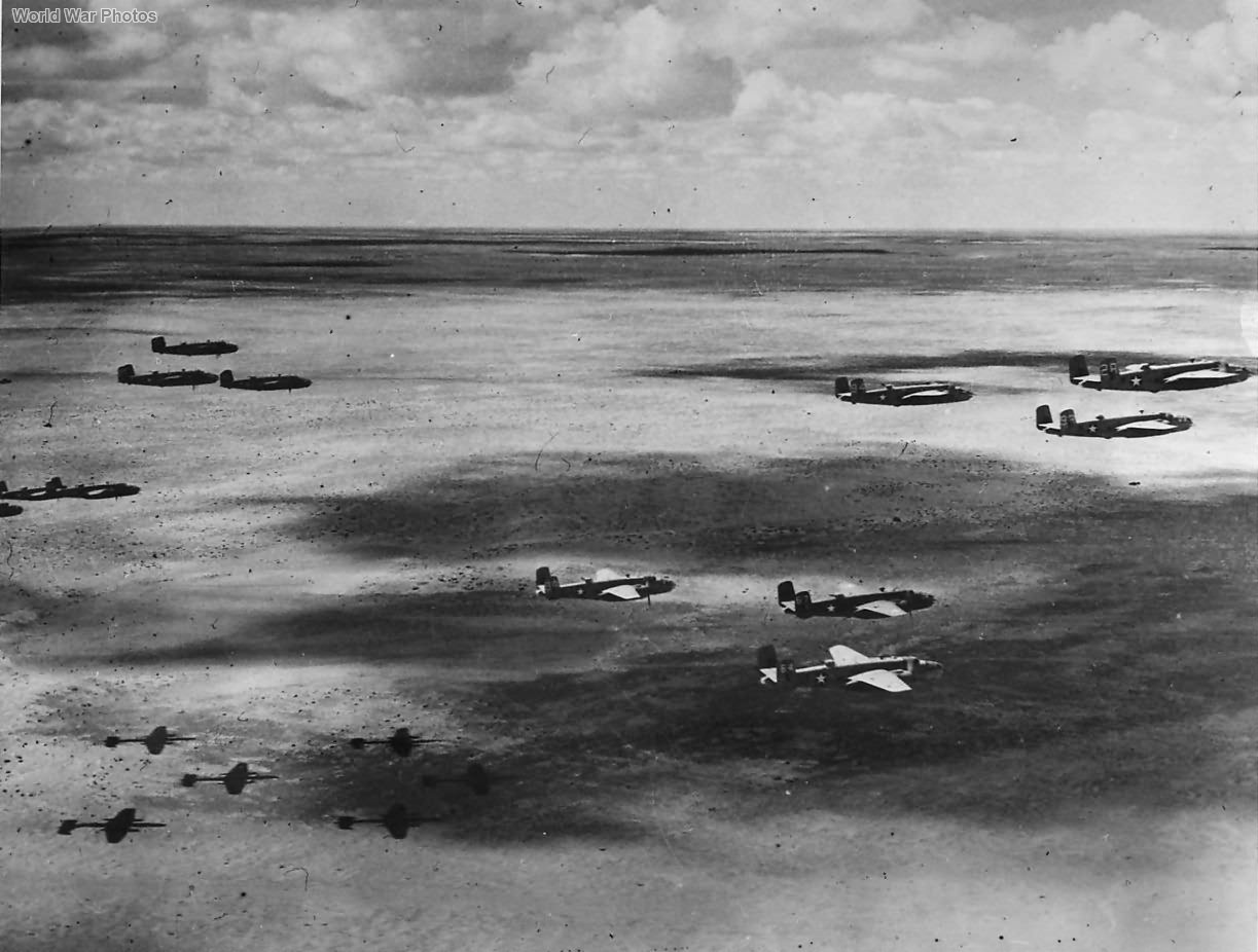 B-25D-20 12th Bomb Group over North Africa 1943