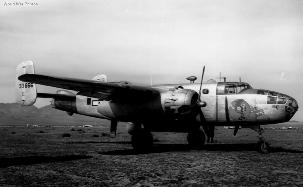 B-25D 43-3666 The Purple Shaft