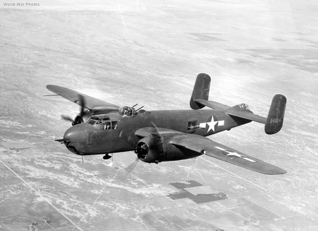 B-25G 43-4134