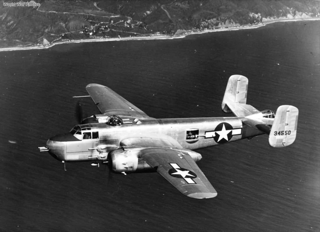 North American B-25G 43-4550