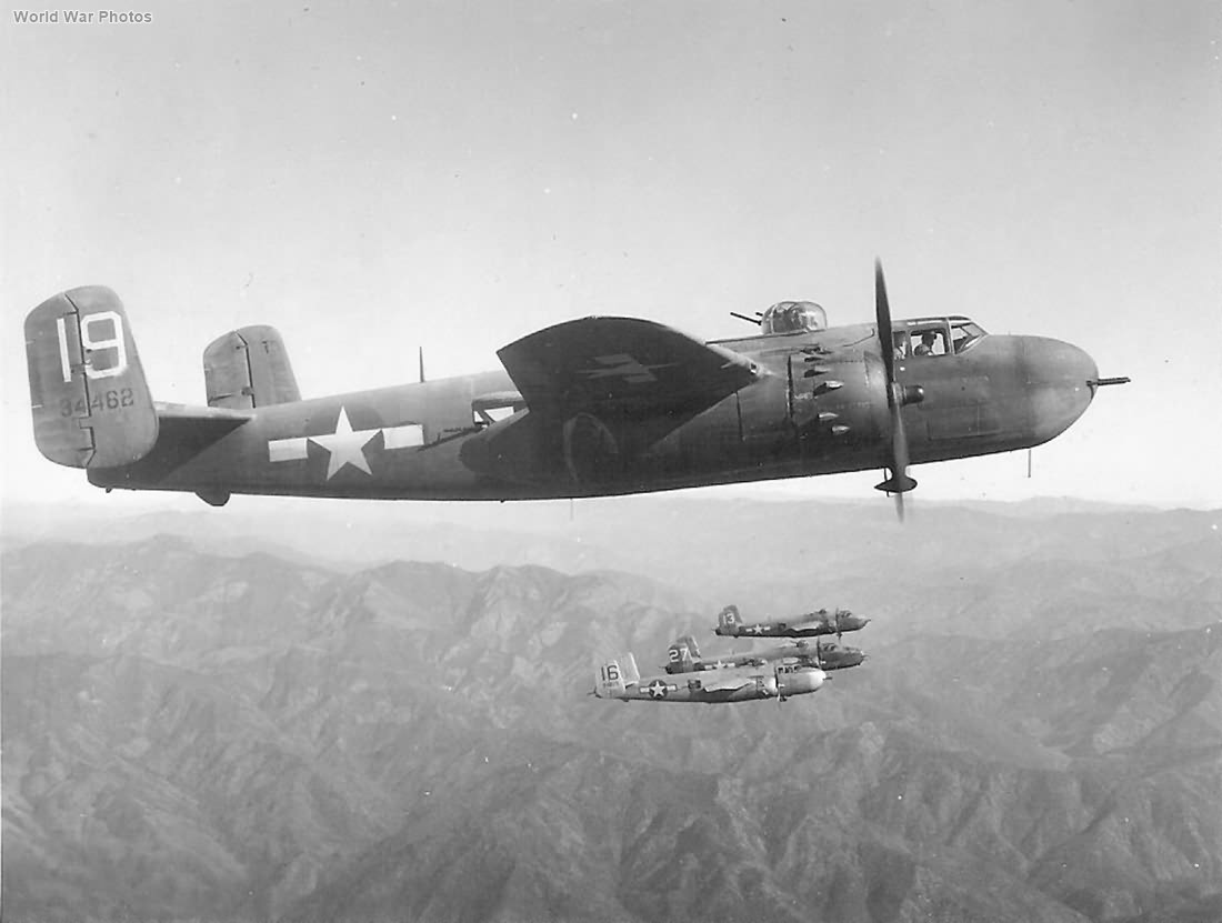 B-25H 43-4462 of the 12th BG