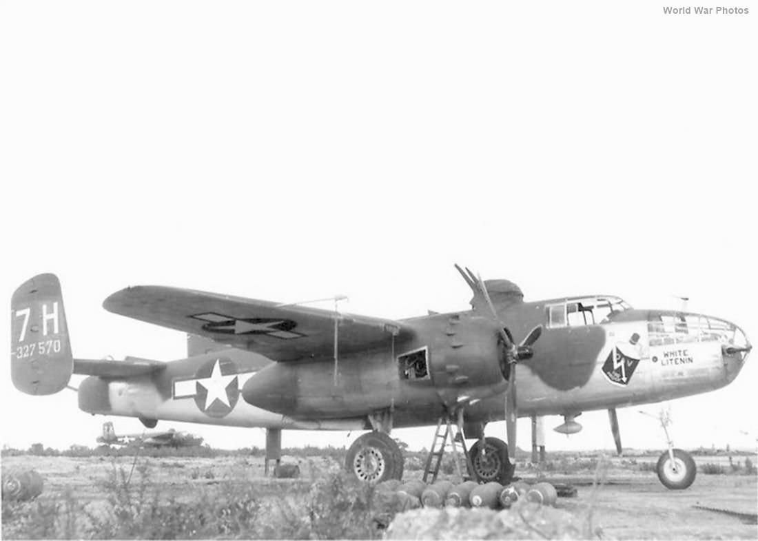 North American B-25J 7H 43-27570