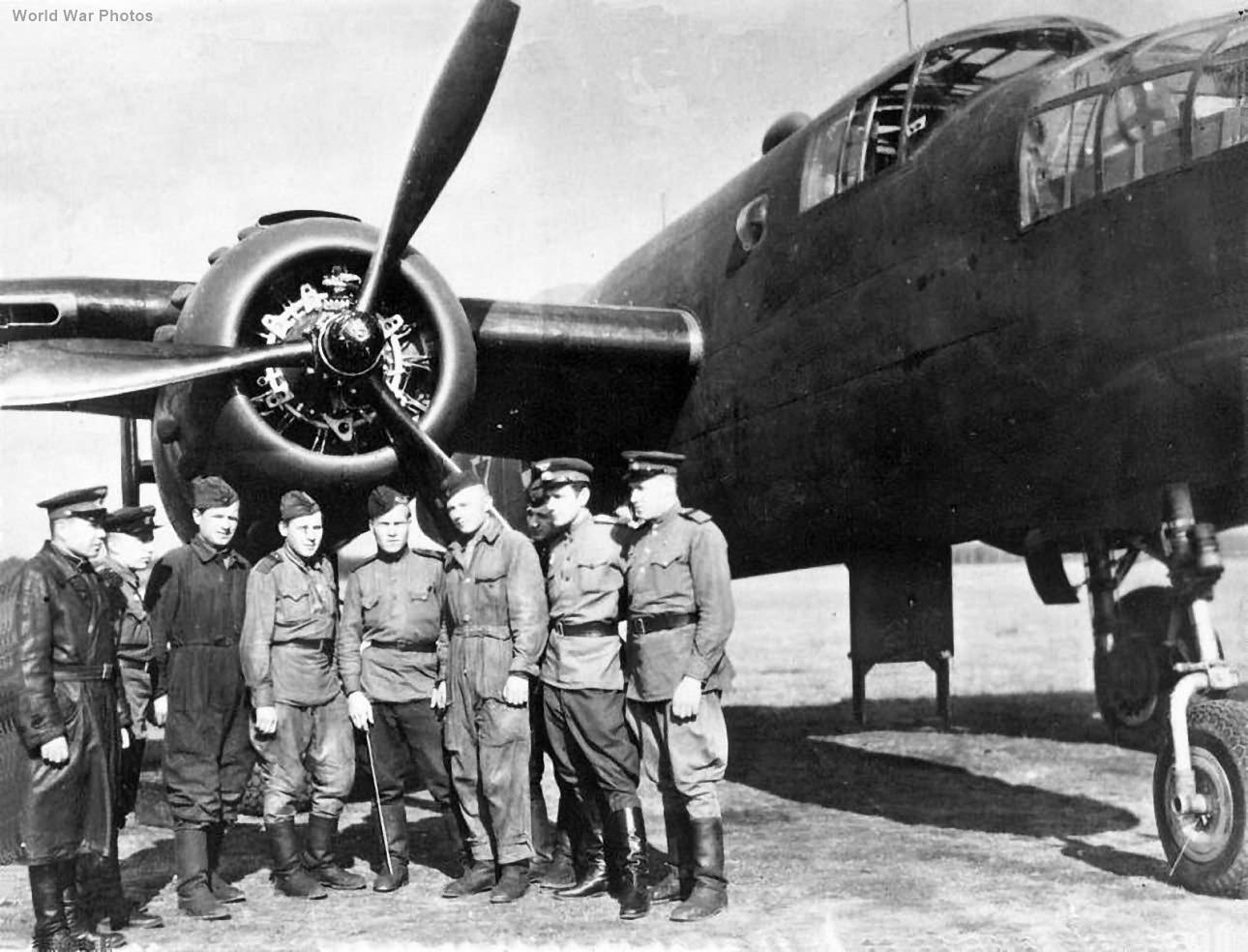 Soviet B-25 of the 13 BAP