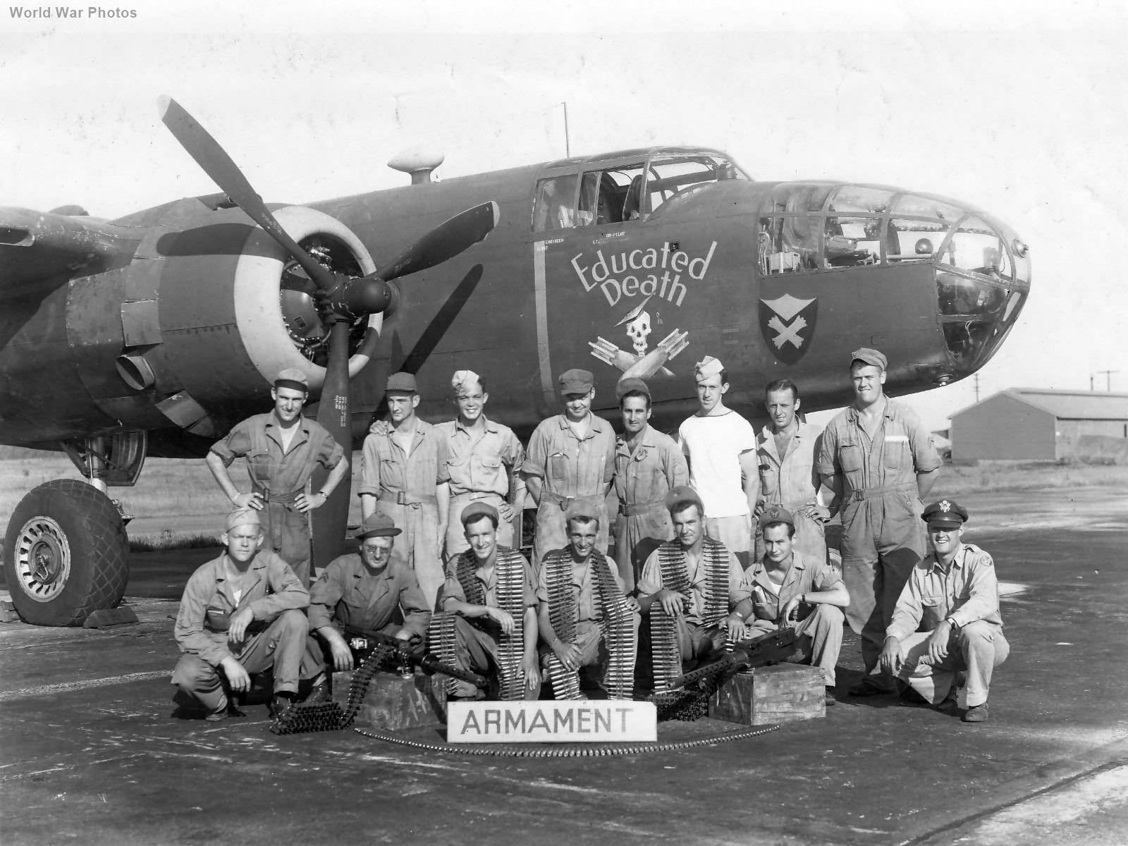 B-25 Educated Death 106th Recon