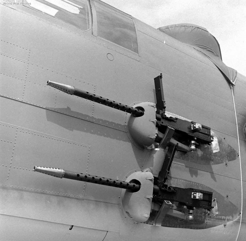 B-25 Mitchell Side Guns Install