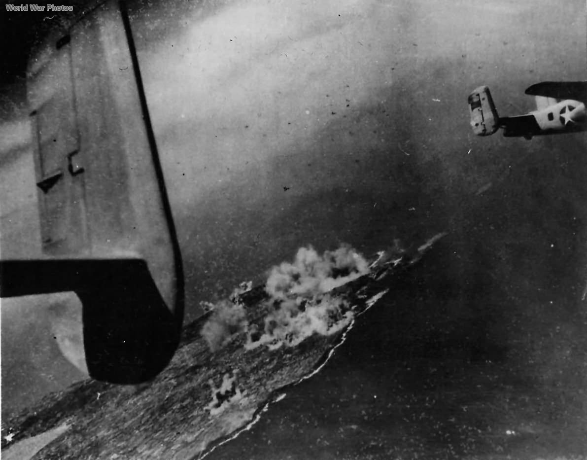 B-25 during Pantelleria Raid 1943