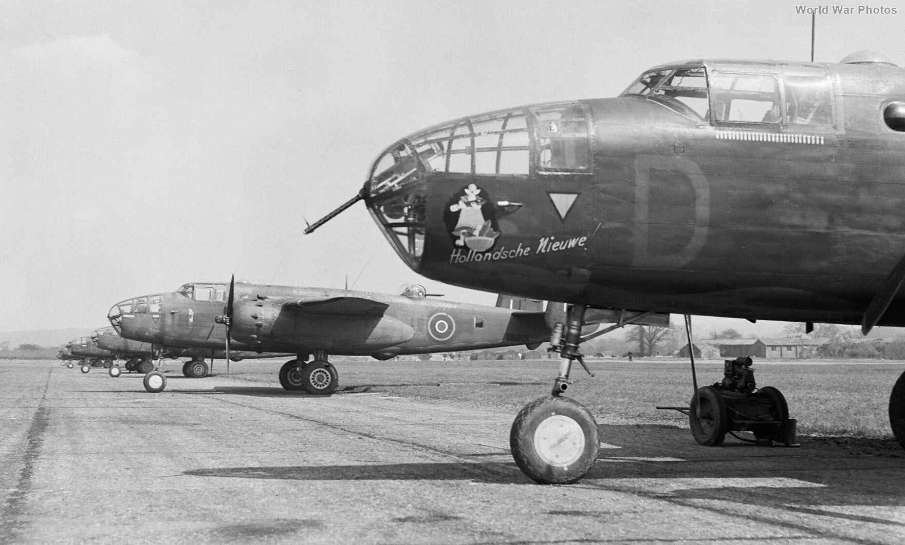 Mitchell Mk II of No. 320 (Netherlands) Squadron RAF