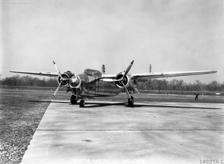 North American NA-40B Wright Field