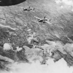 Bombers blast German positions near Volturno River Naples 43