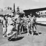 Crew of B-25 Gretchen Middle East