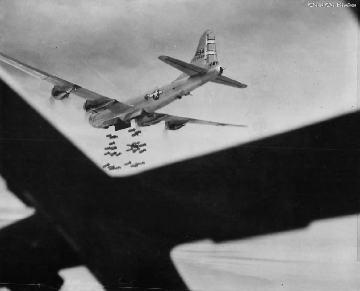 468th BG 792nd BS B-29 42-24494