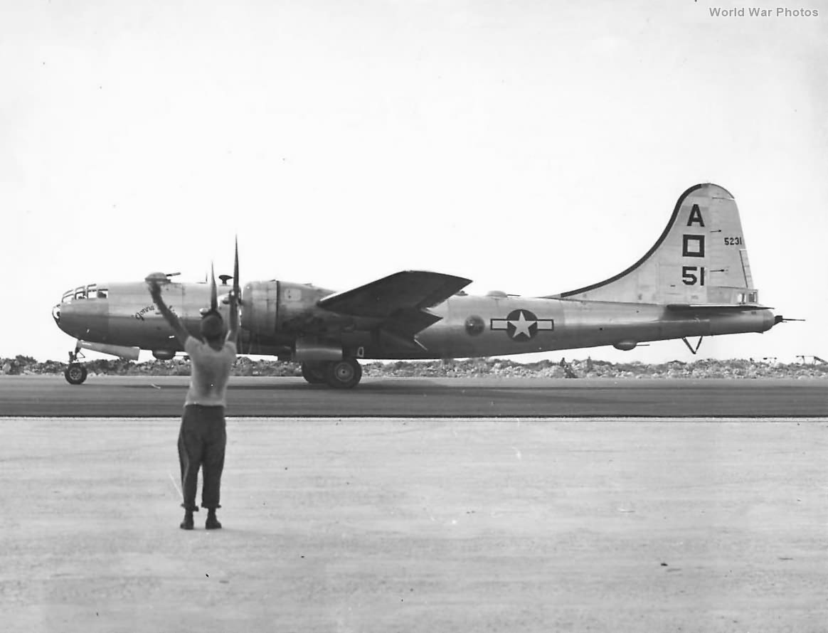 "497th BG, 871st BS B-29 42-65231 ""Gonna Mak'er"""