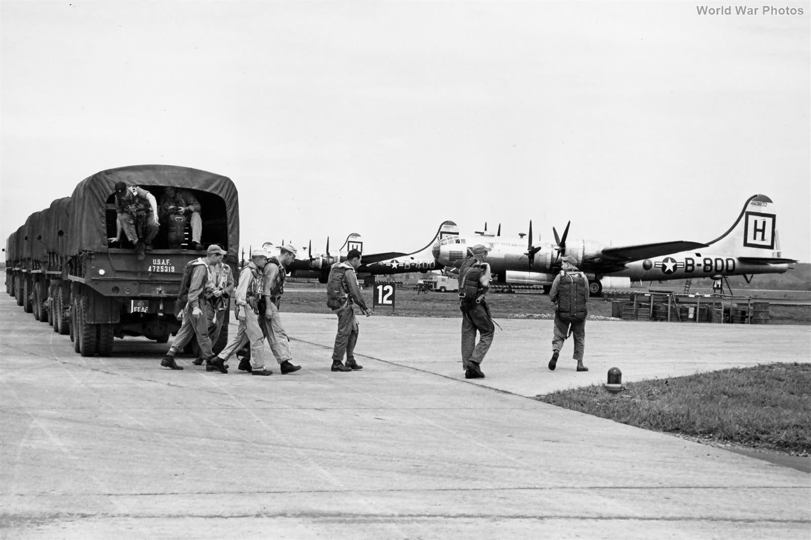 B-29 of the 98th BW Yokota Japan September 1951