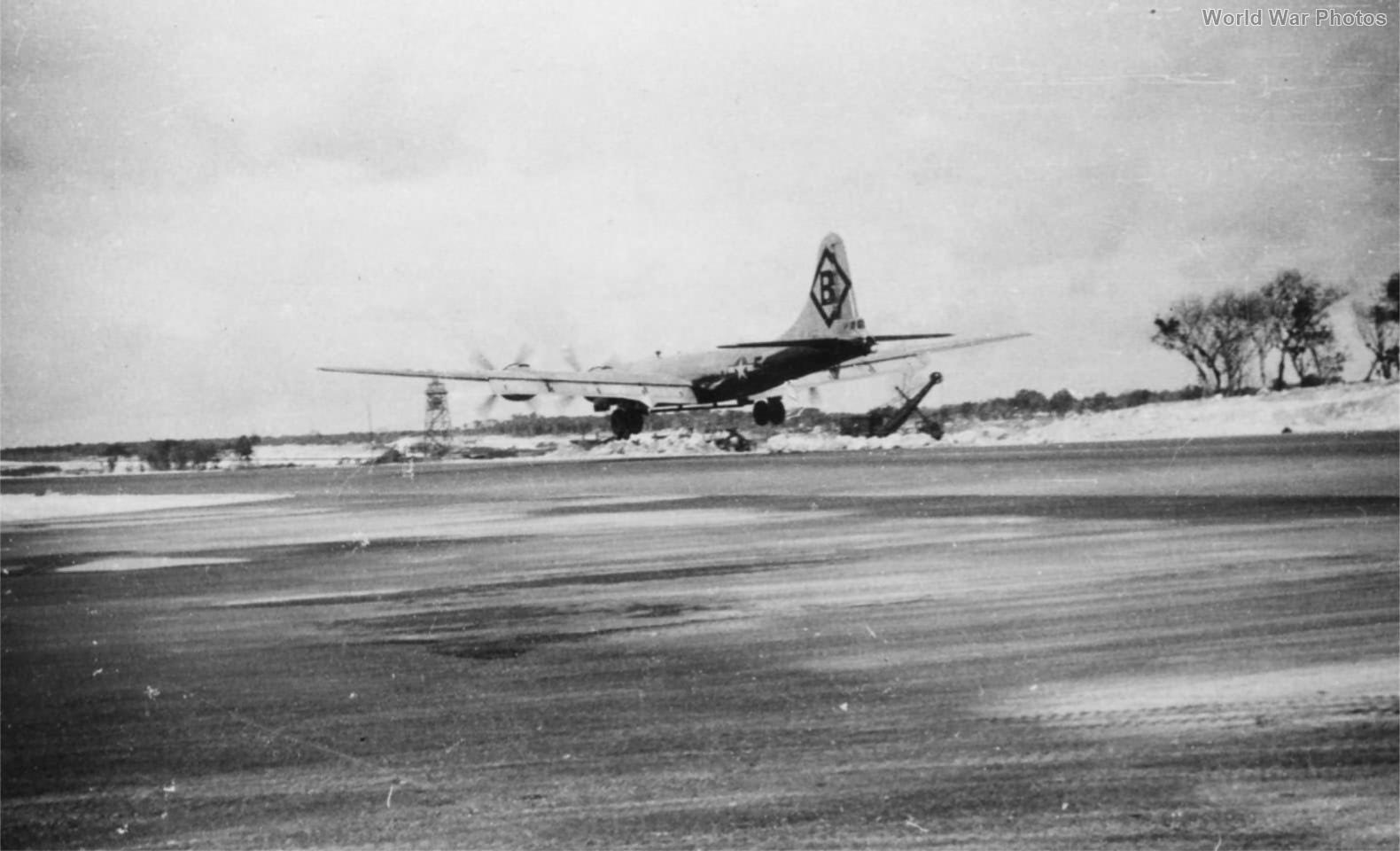 B-29 of the 16th BG