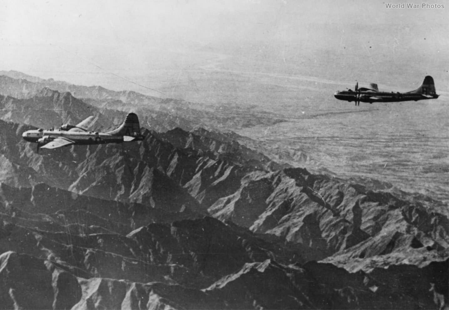 B-29 of the 40th BG over China